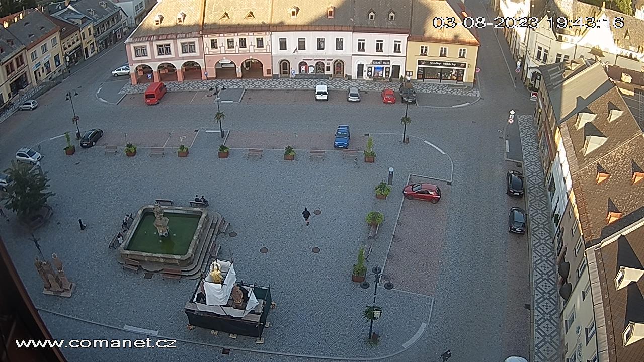Jilemnice - Masarykovo náměstí